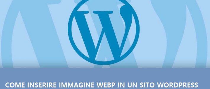 inserire immagine webp wordpress