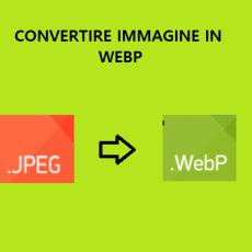 convertire immagine in webp
